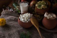 Organisch binnenlands voedsel Stock Afbeelding
