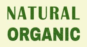 Organisch Natuurlijk Ontwerp Stock Foto's