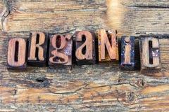 Organisch natuurlijke productenbericht Stock Afbeeldingen