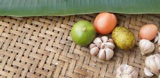Organisch Plantaardig Thais Voedsel Royalty-vrije Stock Fotografie