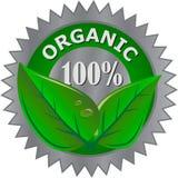 Organisch productetiket Royalty-vrije Stock Fotografie