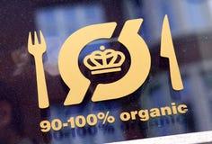 Organisch Restaurant royalty-vrije stock foto's