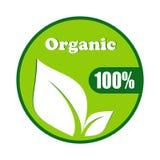Organisch symbool vectorontwerp Stock Foto