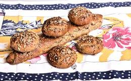 Organisch volkorenbrood Royalty-vrije Stock Foto