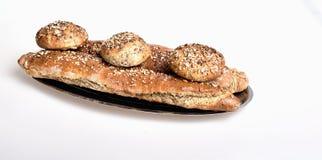 Organisch volkorenbrood Stock Foto's