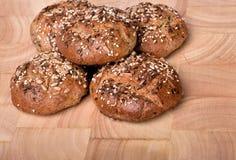 Organisch volkorenbrood Royalty-vrije Stock Foto's