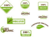 Organische 100% Stock Afbeelding