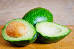 Organische avocado's Royalty-vrije Stock Fotografie