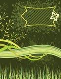 Organische Banner stock illustratie