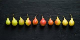 Organische Birnen Lizenzfreie Stockbilder