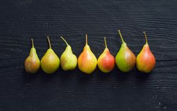 Organische Birnen Stockbild