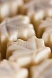 Organische chocoladepralines Royalty-vrije Stock Foto
