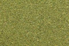 Organische droge Moringa (oleifera Moringa) bladeren in de grootte van de theebesnoeiing royalty-vrije stock afbeeldingen