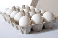 Organische Eier Stockfotos