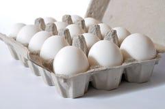 Organische Eieren Stock Foto's