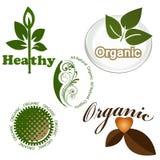 Organische elementen royalty-vrije illustratie