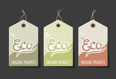 Organische Etiketten Royalty-vrije Stock Foto
