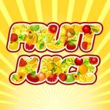 Organische Fruitverscheidenheid op hout Royalty-vrije Stock Afbeeldingen