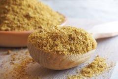 Organische Gastronomische Hete die Grondkruiden voor het Koken worden gebruikt stock foto's