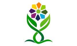 Organische gezondheids het Leven royalty-vrije illustratie