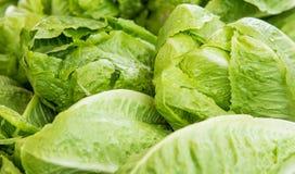 Organische groente bij landbouwersmarkt Stock Fotografie