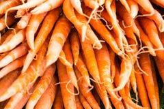 Organische groente bij landbouwersmarkt Royalty-vrije Stock Foto