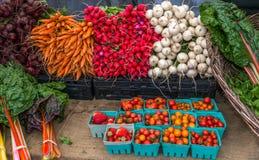 Organische groenten Royalty-vrije Stock Foto