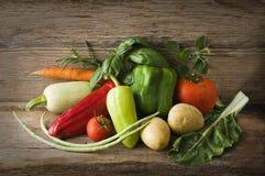 Organische groenten Royalty-vrije Stock Fotografie