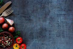 Organische groenten voor het koken royalty-vrije stock fotografie