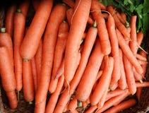 Organische Karotten Lizenzfreies Stockbild