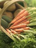 Organische Karotten Stockbild