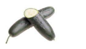 Organische komkommer Stock Afbeeldingen