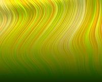 Organische Kunst-flüssiger Plastikzickzack schwemmt Gelb an lizenzfreie abbildung