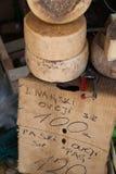 Organische Lokale Kaas Stock Foto