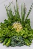 Organische manden van familielandbouwers Royalty-vrije Stock Afbeelding