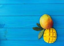 Organische Mango royalty-vrije stock afbeelding