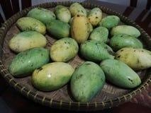 Organische Mango's stock fotografie