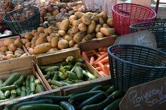 Organische markt Royalty-vrije Stock Foto