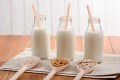 Organische melk zonder lactose royalty-vrije stock afbeelding