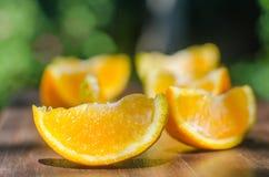 Organische natürliche Orange stockbilder