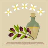 Organische olijfolie Beste kwaliteit Royalty-vrije Stock Fotografie
