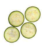 Organische pepo van Cucurbita van de courgettecourgette Royalty-vrije Stock Afbeeldingen