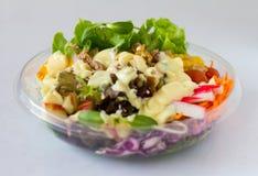 Organische plantaardige salade Stock Foto's