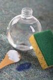Organische reinigingsmachines om vlekken te verwijderen stock fotografie