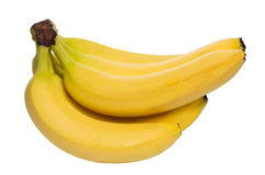 Organische rijpe bananen Royalty-vrije Stock Afbeelding