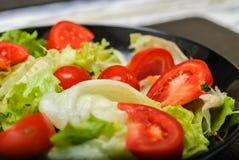 Organische salade Royalty-vrije Stock Foto's