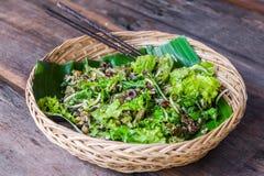 Organische salade Royalty-vrije Stock Fotografie