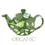 Organische theepot   Royalty-vrije Stock Foto