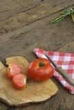 Organische tomaat Stock Foto's