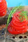 Organische tomaten Royalty-vrije Stock Foto's